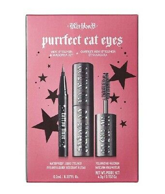 Kat Von D Purrfect Cat Eyes Mini Mascara and Eyeliner Set