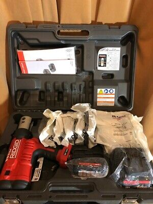 """Ridgid RP340 Propress with kit jaws crimpers Tool 1/2"""" - 2"""""""