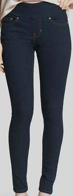 $298 Jag Jeans Womens Blue Nora Skinny High-Rise Stretch Denim Pants Size 10/30W