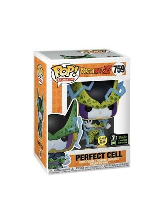 Funko POP! DBZ Perfect Cell GITD #759 SHARED ECCC Exclusive Preorder