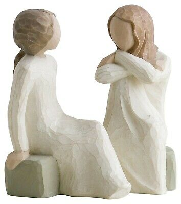 Willow Tree Heart and Soul 11.5cm Tall Resin Figurine.