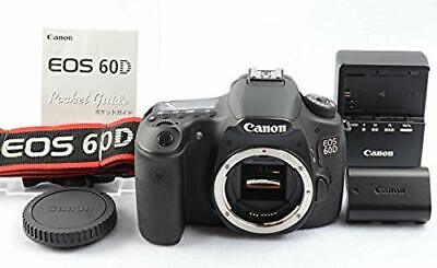 Excellent Canon EOS 60D 18.0MP Digital SLR Shutter Camera Body From Japan