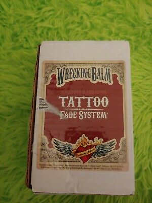 Wrecking Balm Tattoo Removal System to Fade Tattoos  As Shown