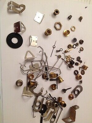 CLOCK HANGERS DIAL CENTRES ANTIQUE CLOCKMAKERS SPARE PARTS COLLECTION ref 521