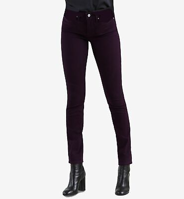 $155 Levi's 311 Women's Purple Stretch Shaping Skinny Denim Jeans Pants Size 16