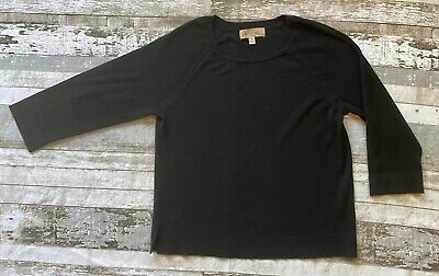 Philosophy Republic Clothing Black Simple Sweater Women's Medium