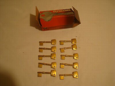 10, Ilco Skeleton Key Blanks, Original Box