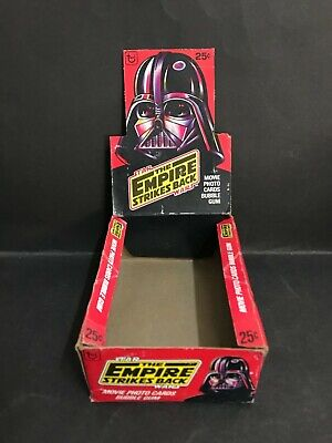Star Wars The Empire Strikes Back 1980 Trading Card Box By Topps
