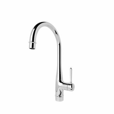 GoodHome Filbert Chrome effect Kitchen Side lever Mixer tap NO6018