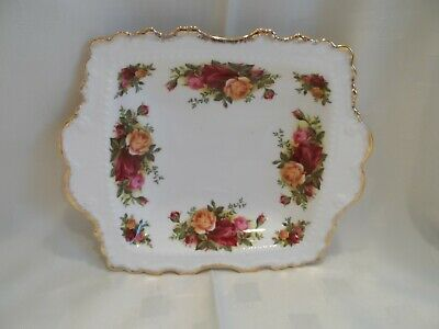 Royal Albert, Old Country Roses Oblong Party Tray.