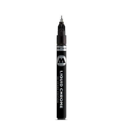 Molotow Markers 1mm Liquid Chrome Mirror Effect Marker #MLW-101