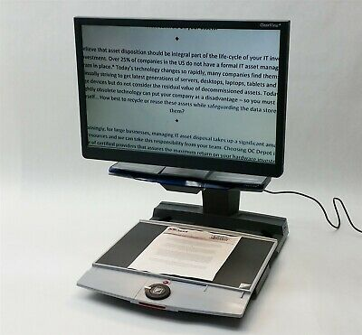 Optelec Clearview+ Magnifier TFT 22in Monitor Ultra Flexible TFT Arm Projector