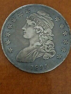 1835 Capped Bust Half Dollar circulated
