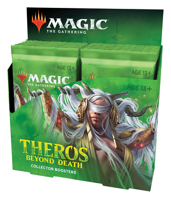 Magic The Gathering:  Theros Beyond Death Collector Booster Box (Factory Sealed)