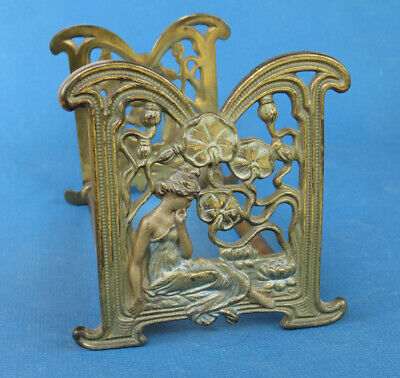 Art Nouveau Lady Expandable Book Holder