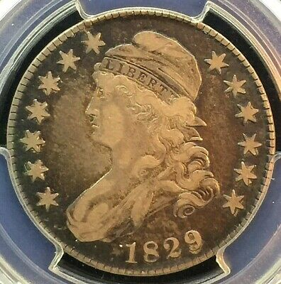 1929 Capped Bust Half VF30 PCGS