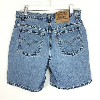 Vintage Levi's Women's High Waist Denim Mom Jean Shorts Size 9