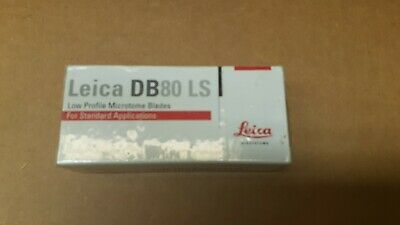 Leica cryostat microtome disposable blades  DB80LS Low profile