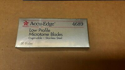 Accu Edge cryostat microtome disposable blades  4689