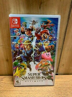 Super Smash Bros Ultimate Video Game for Nintendo Switch
