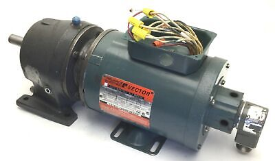 Reliance Electric P56H5304P-KF Duty Master AC RPM Motor & HDQ-A-56C Gear Reducer