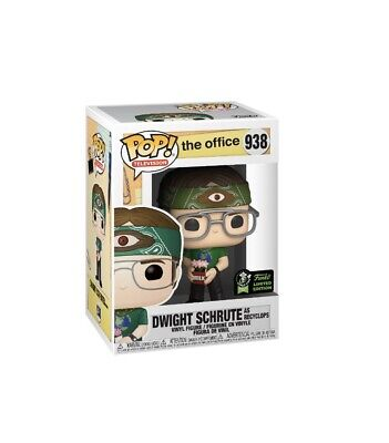 Funko POP! The Office Dwight Schrute Recyclops #938 ECCC Exclusive Preorder