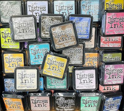 Ranger Tim Holtz Distress Ink Pads Full Size 61 Colours to Choose
