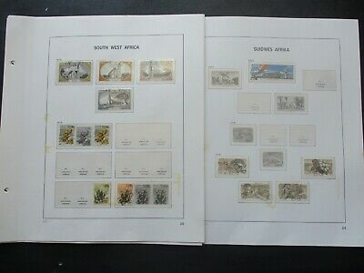 ESTATE: South West Africa Collection on Pages, Great Item! (p1311)