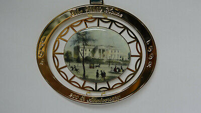 White House Historical Association 200th Anniversary ~ Christmas Ornament 1992