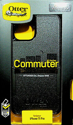 OtterBox COMMUTER SERIES Case for iPhone 11 Pro - Black New