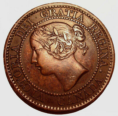 Old Canadian Coins 1859 Canada  HIgrade Large Cent