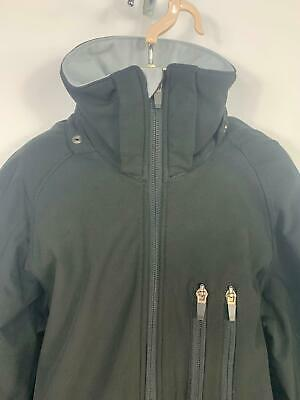 Boys H&M Sports Black Casual Soft Shell Zip Up Coat Jacket Kids Age 13/14 Years