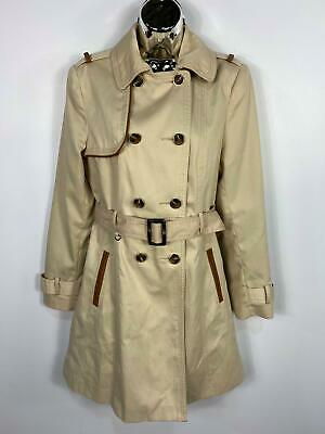 Ladies Coat Jacket Warm Thick Primark Brushed Fleece Double Breasted Trench Long