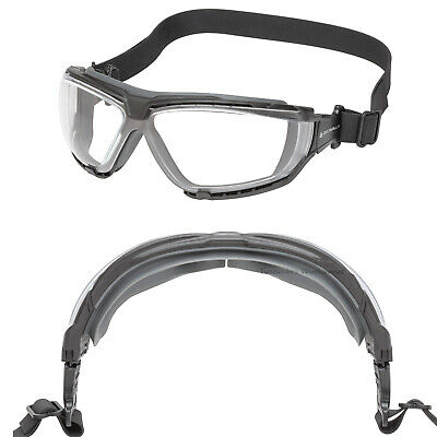 Delta GO-SPECS TEC Hybrid Safety Glasses Goggles Anti Scratch Fog PPE Specs