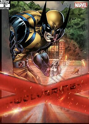 Topps Marvel Collect Wolverine X-Force 1st Printing DIGITAL CARD