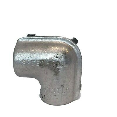 "Speed-Rail Hollaender Side Outlet Elbow Aluminum Fitting 1.315"" OD Pipe"