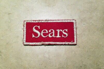 Sears CRAFTSMAN Tools Advertising Patch 00RV Sticker-Back /& Thin Like Label