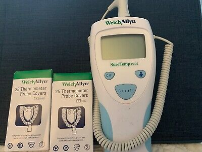 Welch Allyn SureTemp Plus 690 Medical Digital Thermometer With Rectal Probe EUC