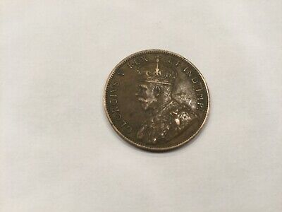 1911 Canada, Large Cent, George V