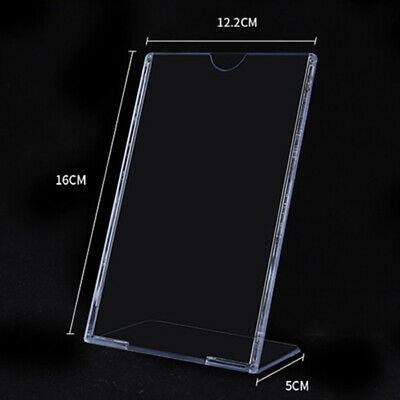 6pcs Acrylic Display Stand Sign Holders Price List Picture Desktop Display Stand