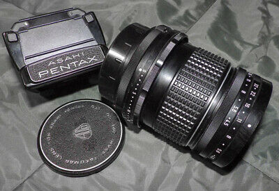 Pentax 6x7  75mm f4.5 Shift Lens + Waist Level Viewfinder - Perspective Control