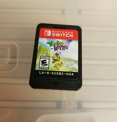 (CARTRIDGE ONLY) Yooka-Laylee for Nintendo Switch Limited Run Games