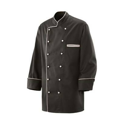 Exner Chef Jacket Bakers Piping Chef's Black with Colourful 5 Colours