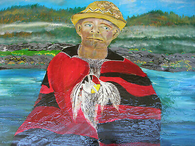 Remember Gordon Downie Print on Canvas 1/1 only Karen Colville Canadian Art