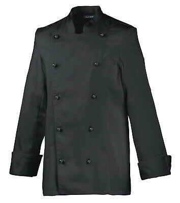 Exner Ladies Chef Jacket Bakers Jacket Black or Hotpink
