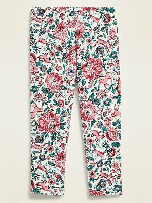 NWT Old Navy Girls Leggings floral animals owls fox rabbit bunny   you pick size