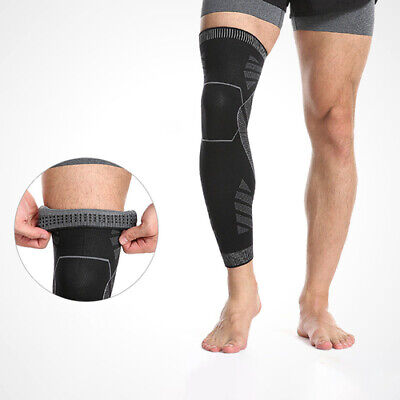 Anti-Slip Knee Brace Sport Leg Wrap Sleeve Thigh Compression Protector Men Women
