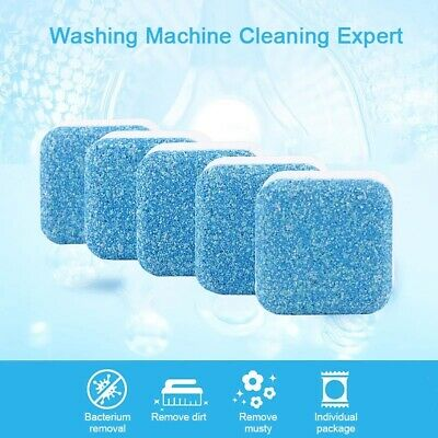 Washing Machine/WASHER Cleaner Cleaning Detergent Effervescent Cleaner 10 Pcs