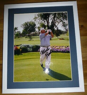 MILLER BARBER-A Superb Hand Signed Photo,Mounted & Matted-RARE With A COA Too