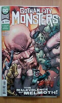 """Gotham City Monsters Issue 6 """"First Print"""" Cover A - 2020 Bag Board"""